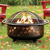 Backyard Fire Pit / Fire Pit -- Orvis