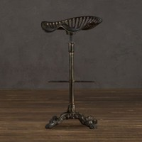 Tractor Seat Barstool | Bar  Counter Stools | Restoration Hardware