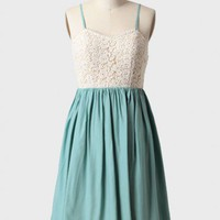 graceful dance dress in mint at ShopRuche.com