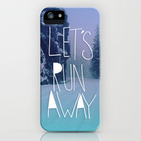 Let&#x27;s Run Away: Rainier National Forest, Oregon iPhone Case | Print Shop