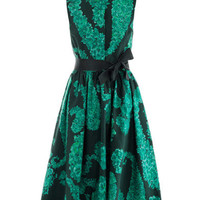 Paisley floral-print cotton dress | Giambattista Valli | Match...
