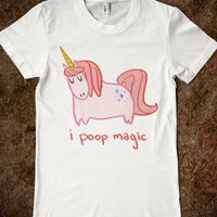 I Poop Magic Unicorn (Junior) - The Fine Print