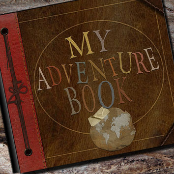 My Adventure Photo Album or Scrapbook by AlbumOptions on Etsy