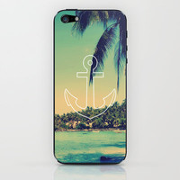 Vintage Summer Anchor iPhone & iPod Skin by RexLambo | Society6