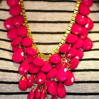Oh How Fancy Necklace: Fushia | Hope&#x27;s