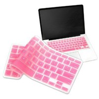 Amazon.com: eForCity Silicone Keyboard Skin Shield Compatible With Apple MacBook Pro, Light Pink: Computers &amp; Accessories