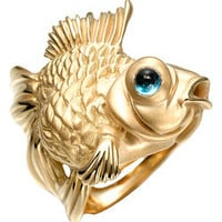 Max &amp; Chloe - Manya &amp; Roumen Celestial Goldfish Ring - Max and Chloe