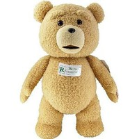 "Amazon.com: Ted 24"" Inch Clean Version Talking Plush Teddy Bear - Full Size From Movie: Toys & Games"