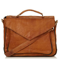 Vintage Leather Satchel - Bags & Wallets  - Bags & Accessories