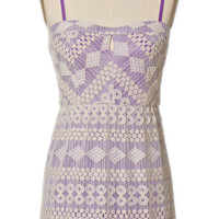 Lilac Lace Love Dress
