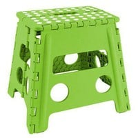 Fold Away Step Stool - Storage