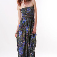 Breeze Braid Maxi Dress - Tube Dress - Printed Dress - Summer Dresses at Pink Ice