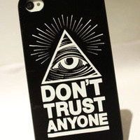 Bestgoods — Unique Triangle Eye Hard Cover Case For Iphone 4/4s/5