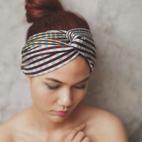Sassy Scotch  - Country girl , Turban Twist Headband