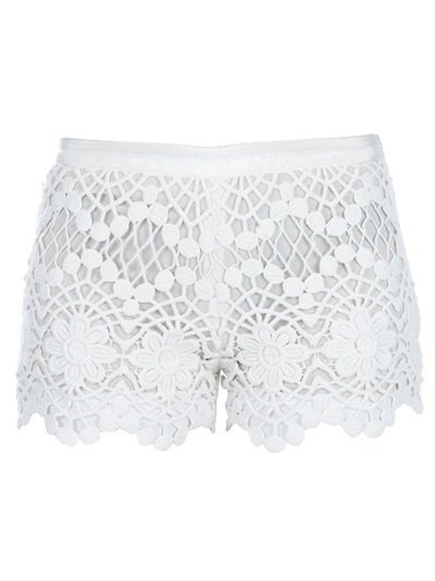 Red Valentino Lace Detail Shorts - Spinnaker Women - farfetch.com