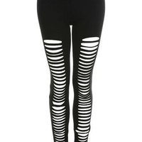 Laser Cut Legging - Miss Selfridge US