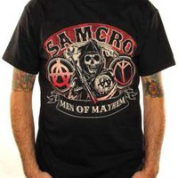 ROCKWORLDEAST - Sons Of Anarchy, T-Shirt, Men Of Mayhem