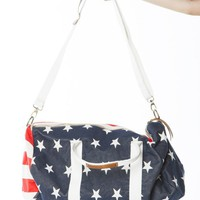 John Galt American Flag Messenger Bag