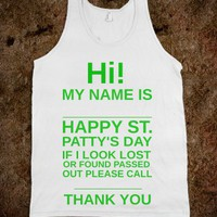 HI!!!! SAINT PATTYS DAY - Get in my Closet