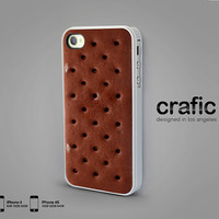 Ice Cream Sandwich iPhone Case  iPhone 4 case iPhone 4s by CRAFIC