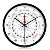 Creative Compass Mute Quartz Wall Clock