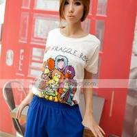 Kikot Fashionable Chiffon Loose Middle Waist Women Shorts - US DinoDirect.com