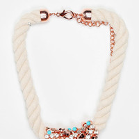 Urban Outfitters - MFP for Urban Outfitters Rhinestone-Wrapped Necklace