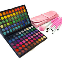 120ESP & 7PC Brush Set from 120 EYESHADOW PALETTE
