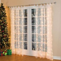 Amazon.com: Brylanehome Pre-Lit Curtain Panel: Home & Kitchen
