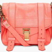 Proenza Schouler Ps1 Neon Coral Pouch Bag 