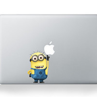 Despicable Me  Mac Decal Mac Sticker Macbook Decals by GoodDecal