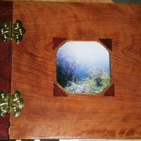 Wooden Scrapbook / Photo Album 12 x 12 by BillsWoodenPleasures