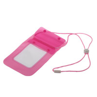 Underwater Pouch Sport Case Bag For iPhone Cell Phone Camera  Waterproof Pink