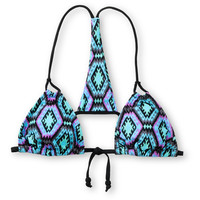Lost Swimwear Maya Tribal Halter Bikini Top