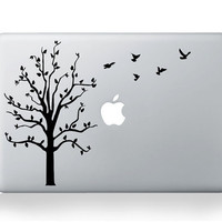 The peace and tree Apple Decal Macbook Decal Mac by ccsdinasong