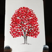 Supermarket: Tree of Hearts journals (JTR-01) from L2 Design Collective