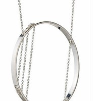 Supermarket: Inner Circle Necklace 106 Sterling Silver from Vanessa Gade Jewelry Design