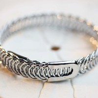 Supermarket: Silver Wrap Bracelet from Diament Jewelry