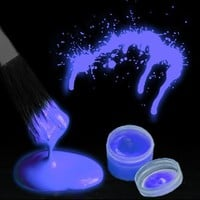 Amazon.com: Glow in the Dark Body Paint (By The Color) (Blue): Clothing