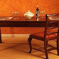 Mesa Chippendale Fija - Muebles Clsicos - Mesas de Comedor Clsicas