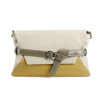 Vintage Envelope Clutch Bag with Belt from Hallomall
