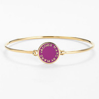 MARC BY MARC JACOBS 'Classic Marc' Boxed Disc Skinny Bangle | Nordstrom