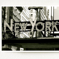 Fine Art Photograph New York In Lights New York by SEENTOSCENE