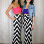 Chevron Tube Dress or Maxi Skirt