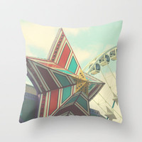 Summer dreams Throw Pillow by Irène Sneddon