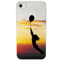 Hold Tight iPhone 4 /4S case balloon sunset by SkyeZPhotography