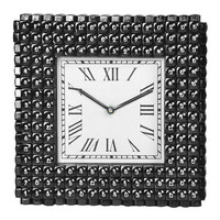 Black Telephone Key Wall Clock