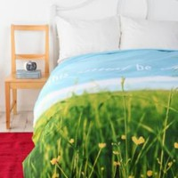 Gift Idea: This Must Be The Place Duvet Cover - Multi - Full/Queen