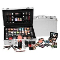 Amazon.com: SHANY Cosmetics Carry All Train Case with Makeup and Reusable Aluminum Case, Cameo: Beauty