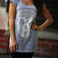 Living On The Edge Shirt: Heather Gray | Hope&#x27;s